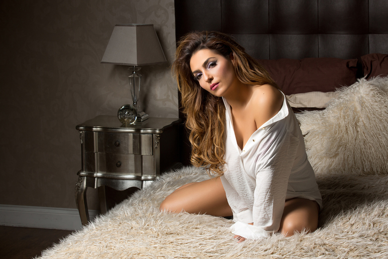 Image of £9.99 instead of £250 for a boudoir or dudoir photoshoot experience from Boudoir or Swagger with two prints, a digital image and vouchers worth £100 from Boudoir - choose from locations across the UK - save 96%