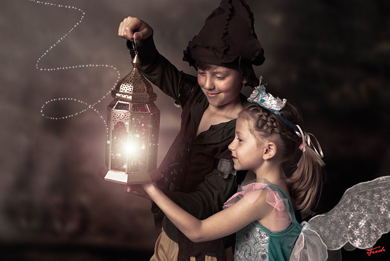 Image of £15 instead of £205 for a fairy and elf photoshoot including two prints and two £50 vouchers at Enchanted - choose from 90 locations and save 93%
