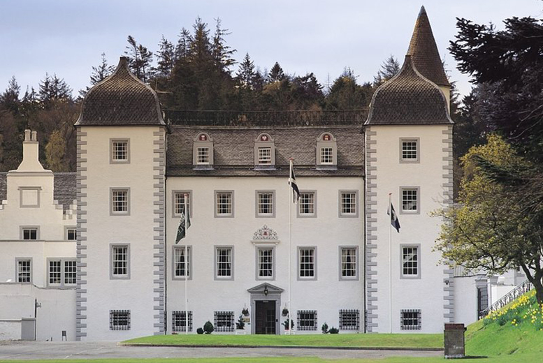 Image of A Scottish Borders stay at Barony Castle Hotel for two people with breakfast and welcome drink on arrival. From £69 for one night or £119 to include a two-course dinner, or £179 for two nights - save up to 49%