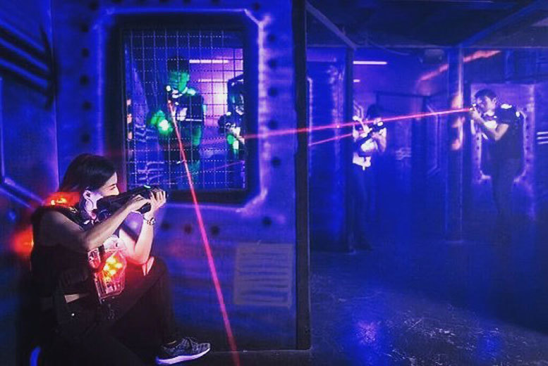 Image of £5 instead of £9.95 for two games of laser quest for one person at LaserQuest, Preston - save 50%
