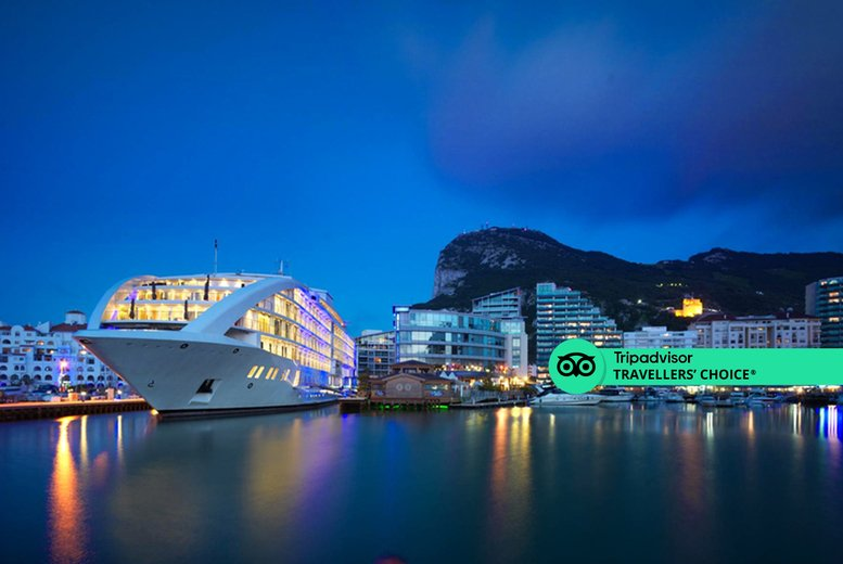 Image of A 5* Gibraltar stay with return flights from three airports. From £219pp for two nights, from £269pp for three nights, from £339pp for four nights, from £399pp for five nights, or from £499pp for seven nights - save up to 25%