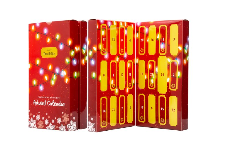 Image of £14 for a Possibility of London Body Mist fragrance advent calendar from Shopaholic!