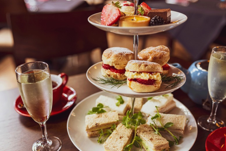 Image of £19 instead of £40 for afternoon tea for two people at The Lobby on Hill Street, Birmingham – save 53%