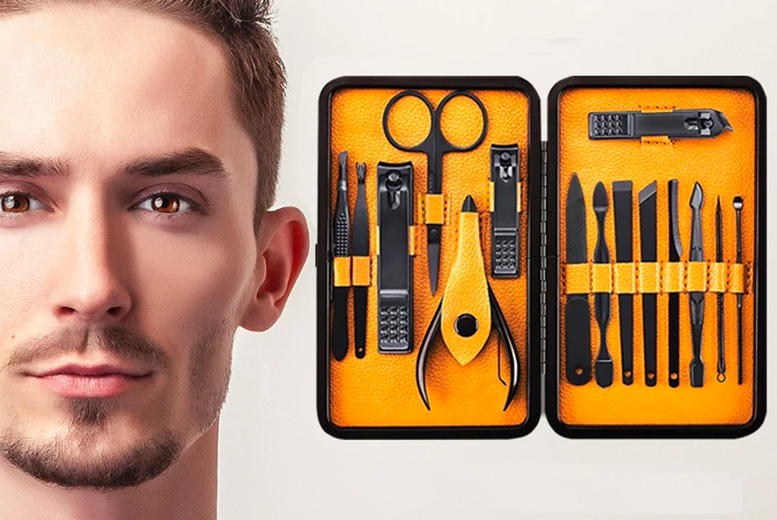 ?8.99 instead of ?24.99 for a men?s grooming kit from Groomarang ? save 64%