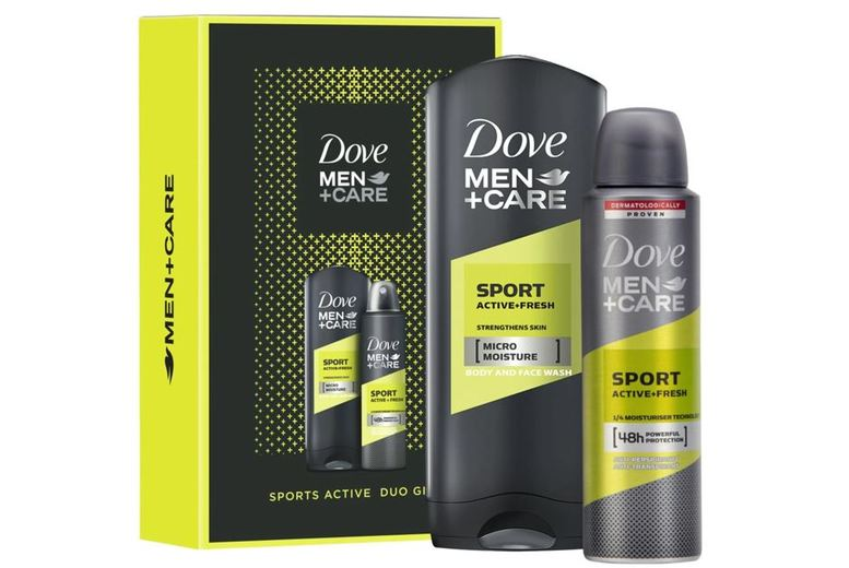 Image of From £7.49 for a Dove Men + Care Sports Duo Gift Set from Avant-Garde Brands Ltd - save up to 50%