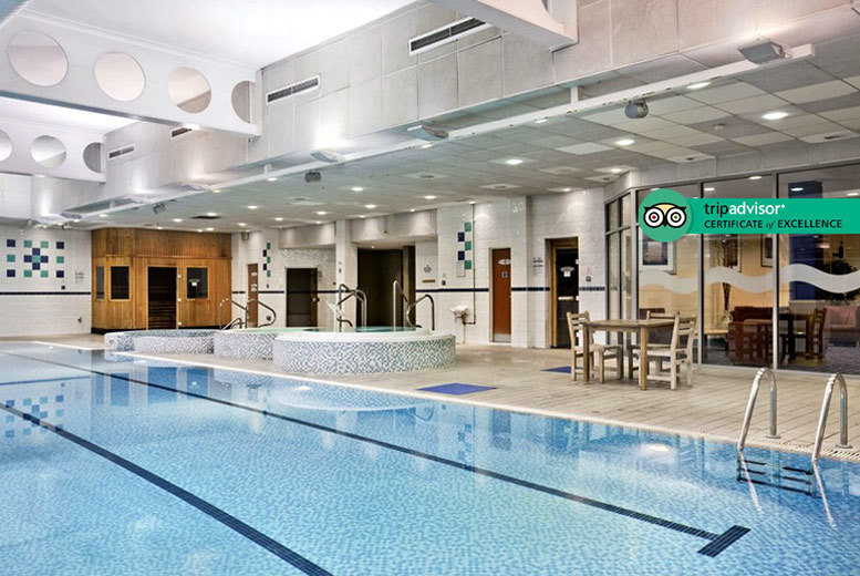 Image of £45 instead of £85 for a spa day for one person at the DoubleTree by Hilton Strathclyde including a 25-minute massage, 25-minute facial, £10 dining voucher and £5 discount. £85 for two people - unwind and save up to 47%