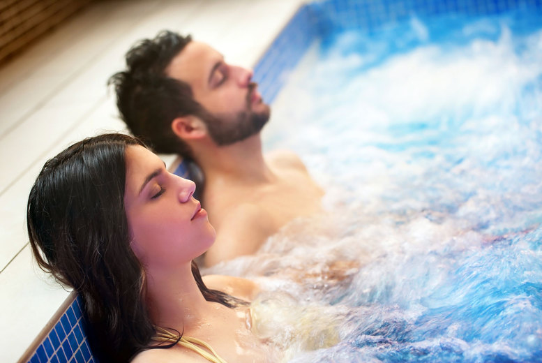 Image of £24 instead of £55 for 30-minute hydrotherapy pool access and an afternoon tea for two people at Mettyear's Day Spa, Kent - save 56%