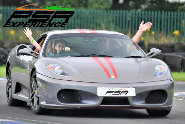 Image of From £19 for a three-lap sports or muscle Junior Driving Experience at PSR Experience in your choice of 11 locations, from £39 for a supercar experience, from £37 for six laps, or from £55 for nine laps