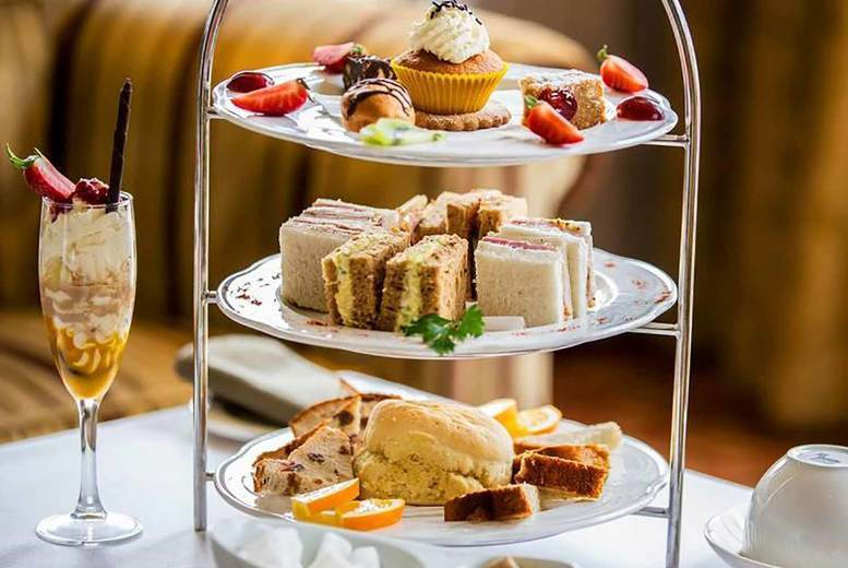 Image of £29 instead of £60 for an afternoon tea for two people at Mercure Haydock Hotel including a glass of Prosecco each and two-hour spa access - save 52%