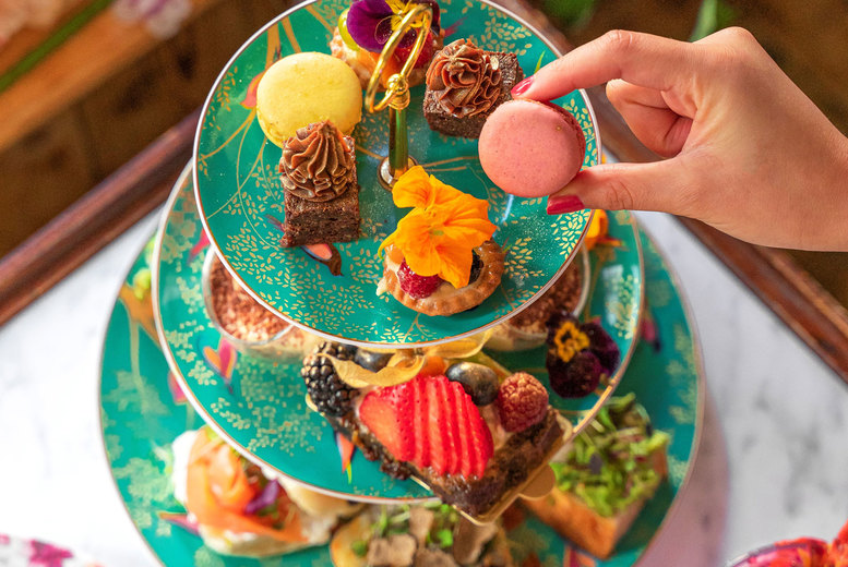Image of £29 instead of £60 for a traditional afternoon tea for two at Double Shot, Covent Garden - save 52%