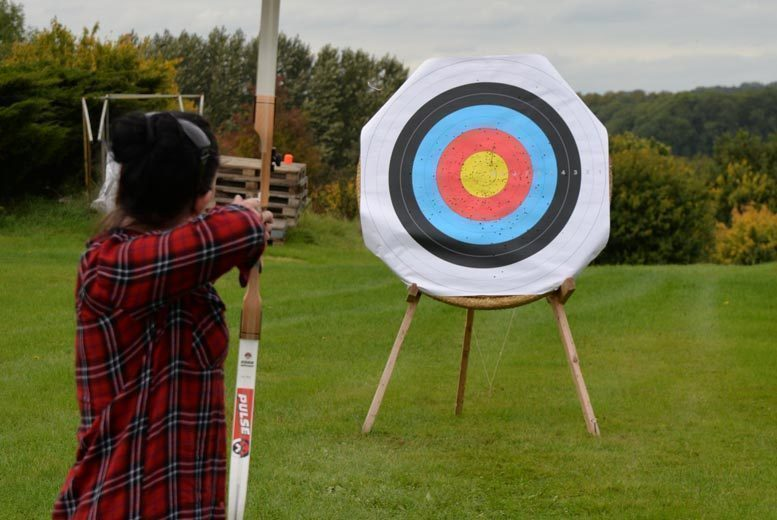 Image of £19 instead of £50 for a one-hour archery experience for two people at Thurlaston Airgun and Archery Centre, Thurlaston. £29 for a family of four - save up to 62%