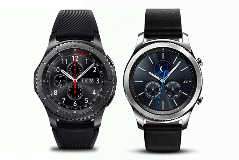 Image of £149 instead of £349.99 for a refurbished Samsung Gear S3 Frontier smartwatch or £129 for a refurbished Samsung Gear S3 Classic smartwatch from Refurb Phone - save up to 68%