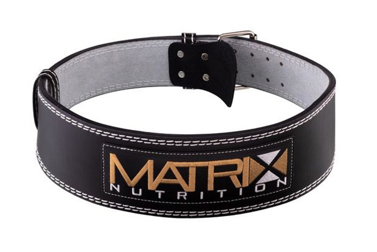 Image of £10.99 for a small or medium weightlifting belt, or £11.99 for a large or extra large weightlifting belt from Matrix Nutrition