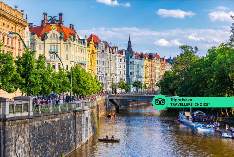 Image of A Prague, Czech Republic hotel stay with return flights from six airports. From £119pp for two nights, from £149pp for three nights, or from £189pp for four nights - save up to 46%
