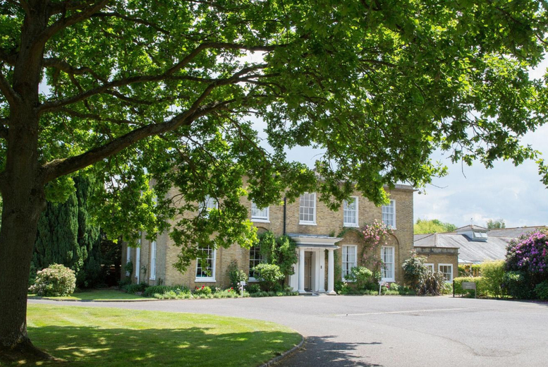 Image of A Kent stay at Hadlow Manor for two people with breakfast, a three-course dinner and late checkout. From £89 for one night, £179 for two nights or £269 for three nights - save up to 38%