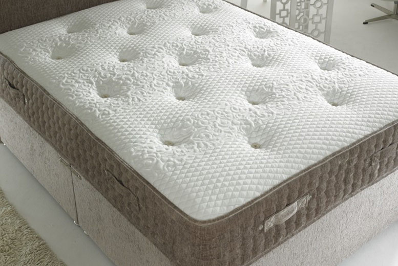 Image of From £109 for a 2000 pocket spring mattress in small single, single, small double, double, king or super king from Dining Tables