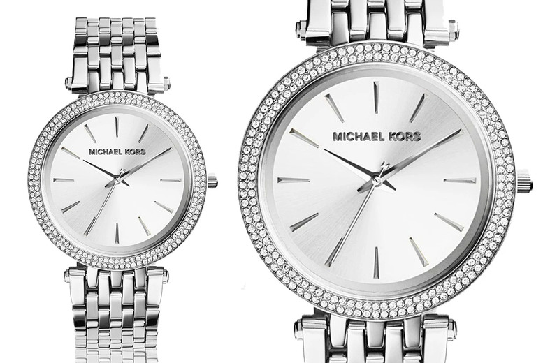 Image of £94.99 instead of £249 for a women's Michael Kors MK3190 Darci watch with crystals from CJ Watches – save 62%