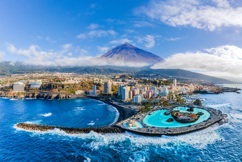 Image of A self-catered Tenerife, Spain hotel stay with return flights from seven airports. From £99pp for three nights, from £139pp for four nights, from £169pp for five nights, or from £219pp for seven nights - save up to 51%