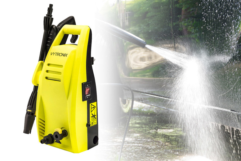 Image of £54.99 instead of £79.99 for a pressure washer from Direct Vacuums - save 31%