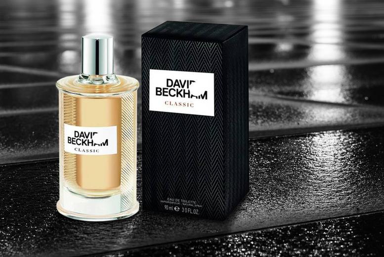 ?9.50 instead of ?28.50 for a 90ml bottle of David Beckham Classic eau de toilette spray - save 67%