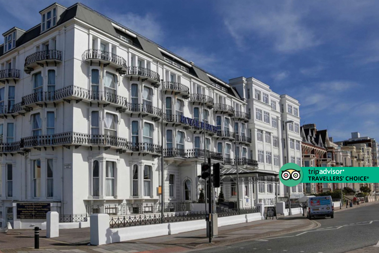 Image of A Southsea, Portsmouth stay at Best Western Royal Beach Hotel for two people with breakfast and late checkout. £69 for one night, £109 for two nights, or £139 for three nights - save up to 44%