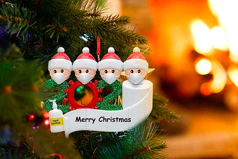 Image of 20 Christmas tree ornament, £3.99 for a family or four or £4.50 for a family of five from Sweet Walk Distribution - save up to 70%