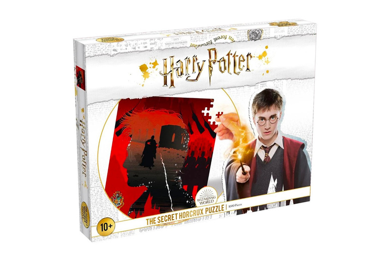 Image of £11 instead of £21 for a Harry Potter Secret Horcrux jigsaw puzzle from Bubble Bedding - save 48%
