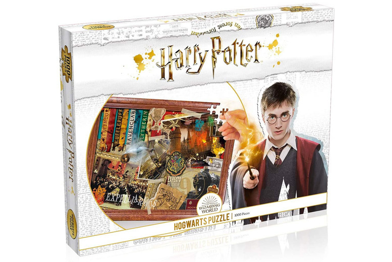 Image of £11 instead of £22.99 for a Harry Potter Quidditch puzzle from Bubble Bedding - Save 52%