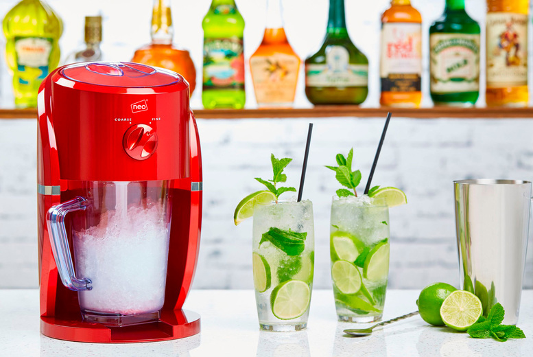 Image of £34.99 instead of £99.98 for an electric ice crusher machine from Neo Deals - save 65%