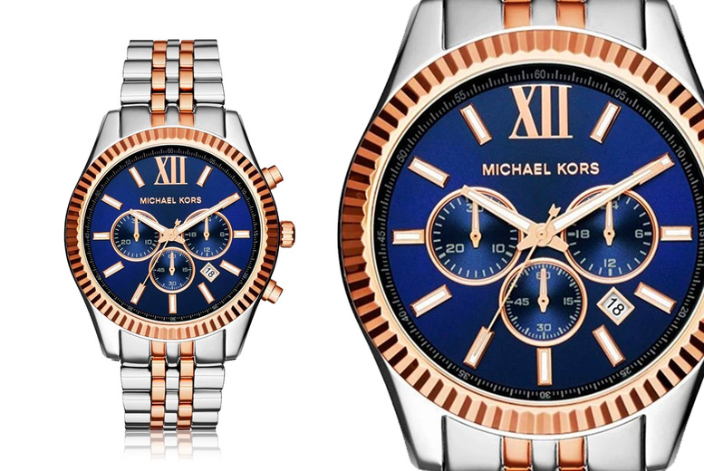 Image of £99 instead of £252.01 for a Michael Kors MK8412 men's two tone chronograph watch from CJ Watches - save 61%