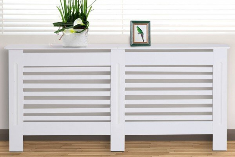 Image of From £24 instead of £69.01 for a white radiator cover from mHstar - choose from 10 options and save up to 65%