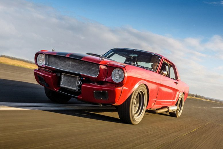 Image of £19 instead of £99 for three laps in a Mustang GT350 or a Speed Mustang with Car Chase Heroes - choose from 16 UK locations and save 81%