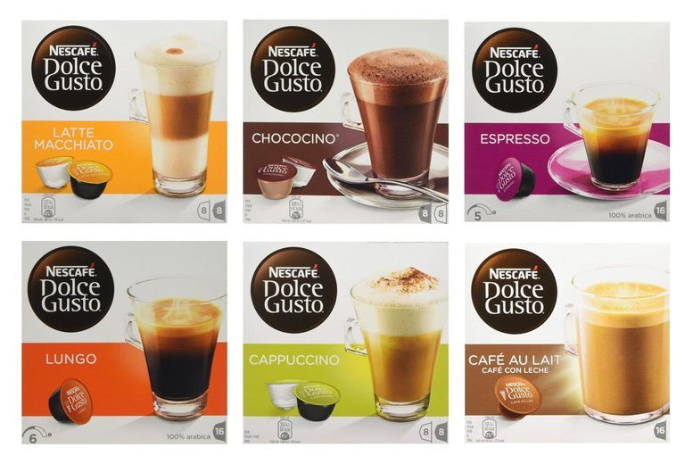 Image of £11.98 for a set of 48 Nescafe Dolce Gusto coffee pods* - choose from 22 flavour options!