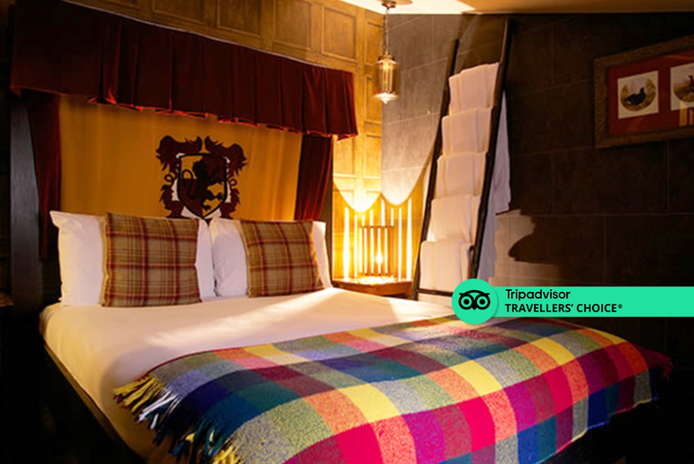 Image of An overnight London stay at 5* Georgian House Hotel for two people with grab-and-go breakfast and 12pm late checkout. From £79 to stay in a Victorian Classic Double room, or from £139 to stay in a Double Enchanted room - save up to 35%