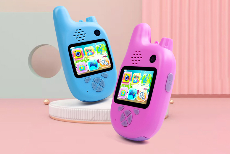 Image of £22.99 instead of £69.99 for a kids' walkie talkie camera from Secret Storz - save 67%