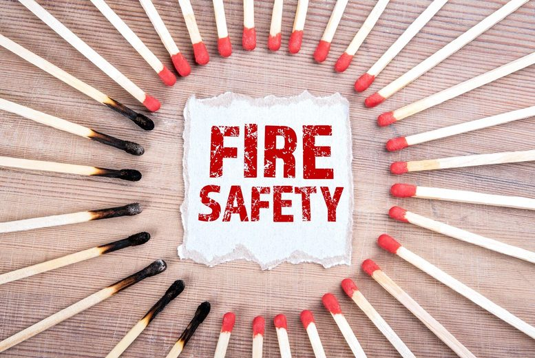 Image of £9 for a fire marshal current legislation online course from Acudemy