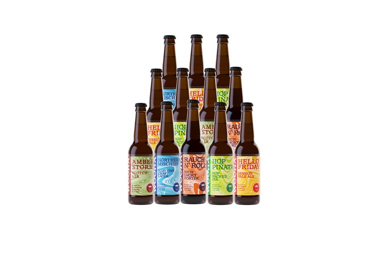 Image of £14.99 for a 'Wee Taste Of The Highlands' beer box from WooHa Brewing including 12 bottles - save 53%