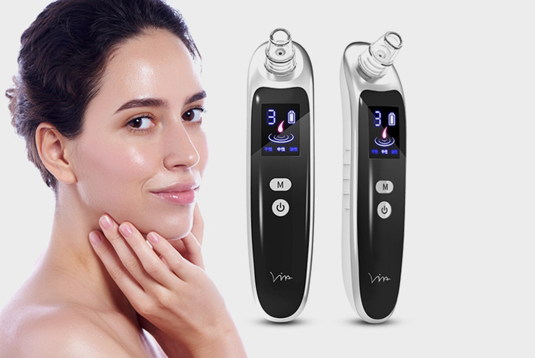 ?9.99 instead of ?29.99 for a pore cleansing blackhead remover with LED screen from WhoGotThePlan - save 62%