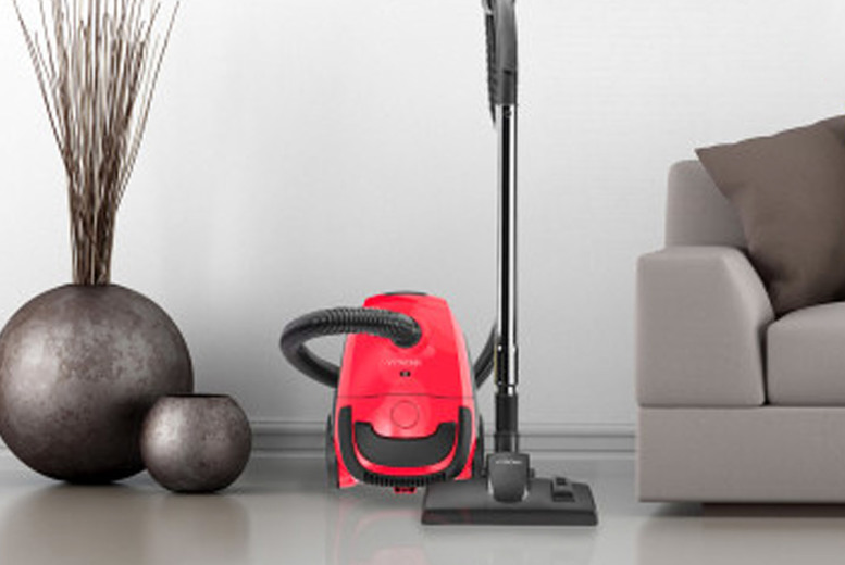 Image of £29.99 instead of £79.99 for a Vytronix compact bagged cylinder vacuum cleaner from Direct Vacuums - save 63%