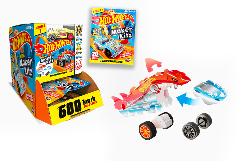 Image of £7.99 for a bundle of five Hot Wheels collectible car building kits from Bladez Toyz