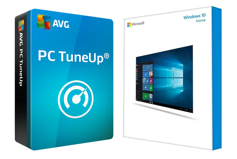 Image of £19.99 instead of £154.98 for Microsoft Windows 10 Home and one year of AVG PC TuneUp, £24.99 for Microsoft Windows 10 Pro and Avast Ultimate - save up to 87%