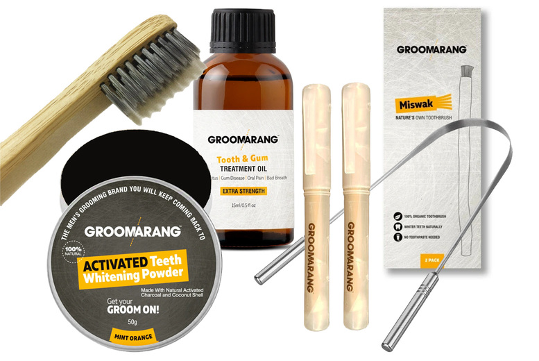 Image of £12 instead of £74.95 for a six-piece oral hygiene kit from Forever Cosmetics - save 84%