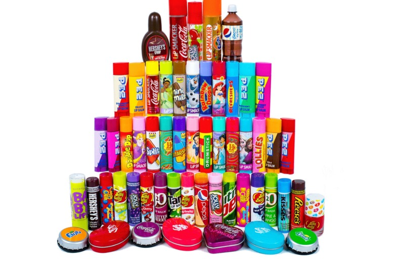 Image of £4.99 for five assorted flavoured lip balms or lip glosses from GB Gifts