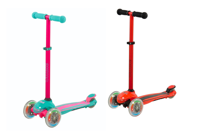 Image of £39 instead of £99 for a child's U-Move Mini compact LED scooter from Pro Rider Leisure - save 61%