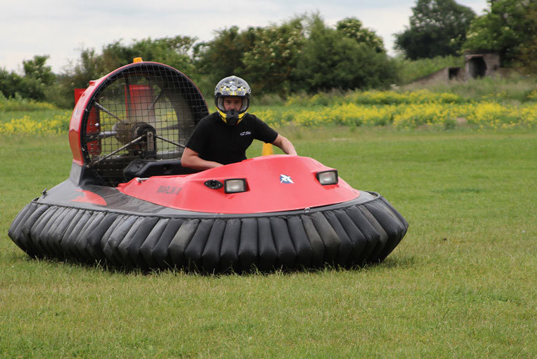 Image of From £29 for a five-lap hovercraft experience with Hover Limits, from £34 for ten laps, or from £39 for 15 laps - choose from three locations and save up to 63%