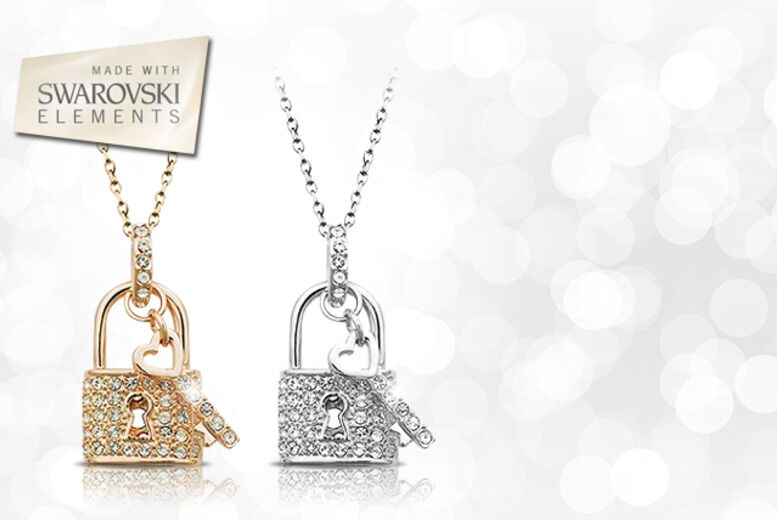 Image of £10 instead of £89 for a lock and key necklace from Evoked Design - save 89%
