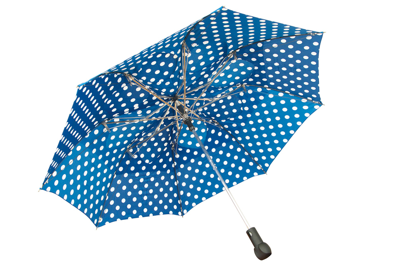 Image of £9.99 instead of £14.99 for a windproof umbrella from CJ Offers - saving 33%