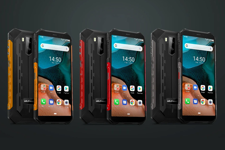Image of £119 instead of £359.99 for an Android ARMOR X5 3+32GB smart phone from Domo Secret - save 67%