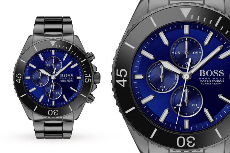 Image of £149 instead of £499.99 for a Hugo Boss Ocean Edition Rare men's watch HB1513743 from Demand Tic! - Save 74%