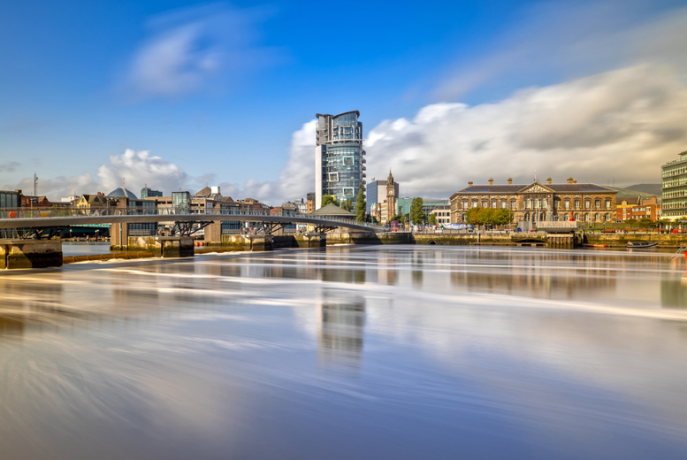 Image of A mystery 4* Belfast stay for two people with breakfast and one welcome drink each. From £159 for a two-night - save up to 40%